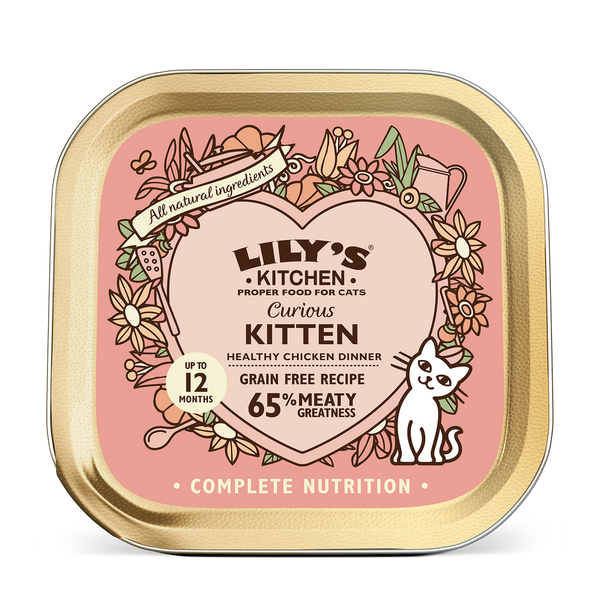 Lily's Kitchen Cat Can Curious Kitten 85g x19 -->$11/can!<--