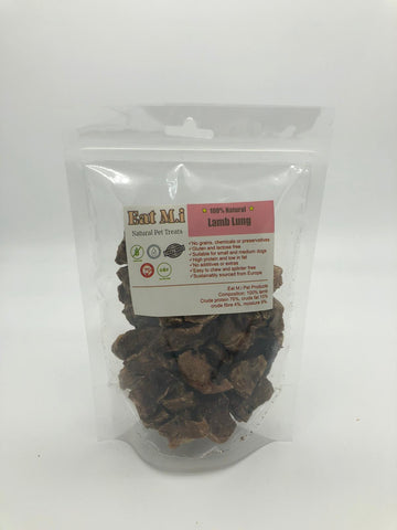 Eat M.i. (UK) Lamb Lung 50g