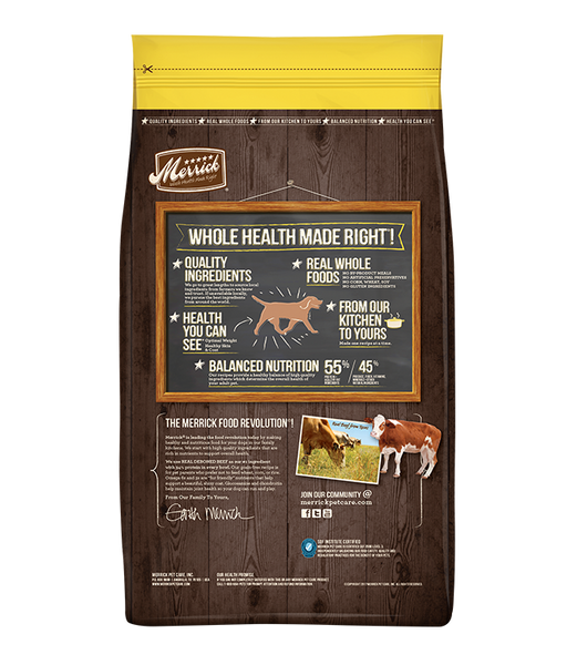 Merrick Grain Free Dog Healthy Weight Recipe 12lb