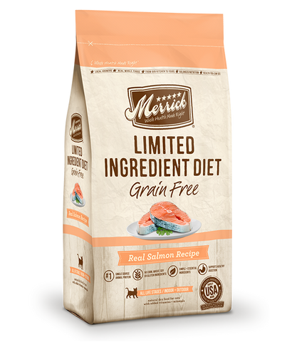 Merrick Cat Grain Free Limited Ingredient Diet Salmon 4lb