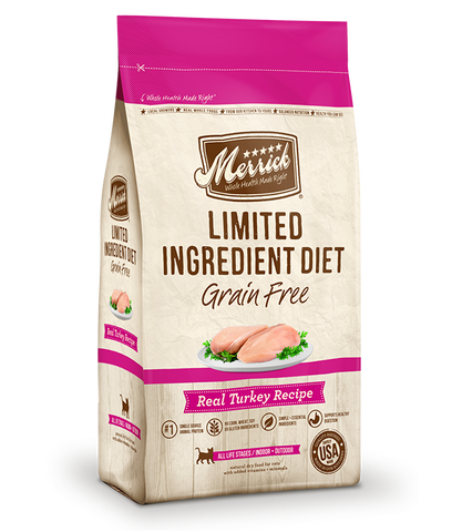 Merrick Cat Grain Free Limited Ingredient Diet Turkey 4lb