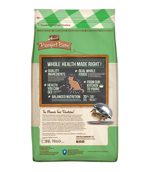Merrick Cat Real Duck & Sweet Potato Recipe 4lb
