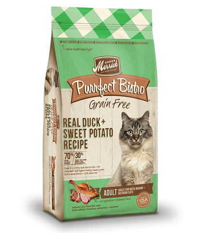 Merrick Cat Real Duck & Sweet Potato Recipe 7lb