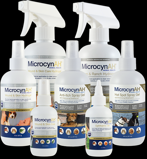MicrocynAH Anti-Itch Spray Gel 120ml