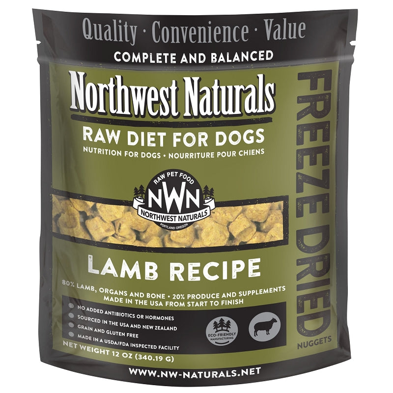 Northwest Naturals For Dog Freeze Dried Lamb 12oz