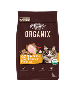 Organix Cat Organic Chicken & Brown Rice Recipe 10lb