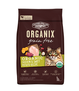 Organix Cat Organic Chicken & Sweet Potato Recipe 3lb