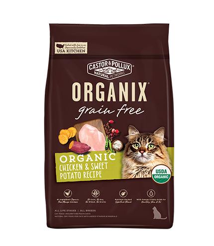 Organix Cat Organic Chicken & Sweet Potato Recipe 10lb