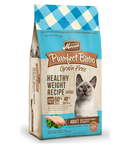Merrick Cat Healthy Weight Recipe 4lb