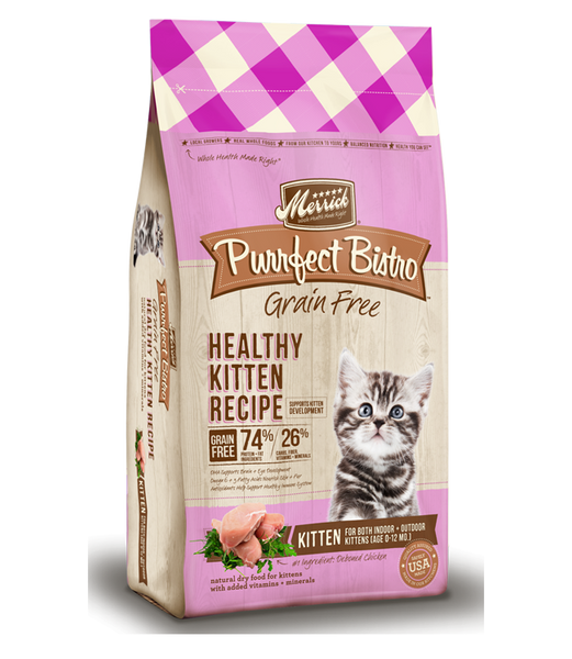 Merrick Healthy Cat Kitten Recipe 4lb
