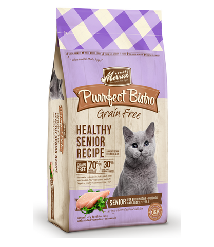Merrick Cat Healthy Senior Recipe 7lb