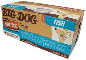 Big Dog for Dog - Frozen - Fish 12x250g