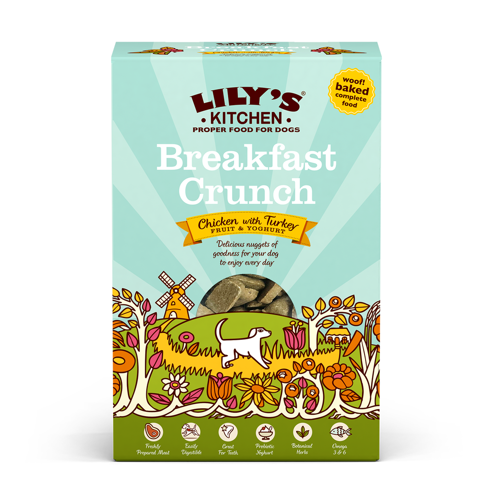 Lily's Kitchen Dog Breakfast Crunch 800g