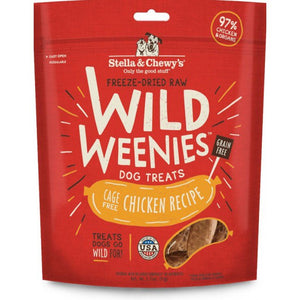 STELLA & CHEWY'S 凍乾香腸小食系列 - 放養雞配方  Wild Weenies Dog Treats 3.25oz-Cage Free Chicken