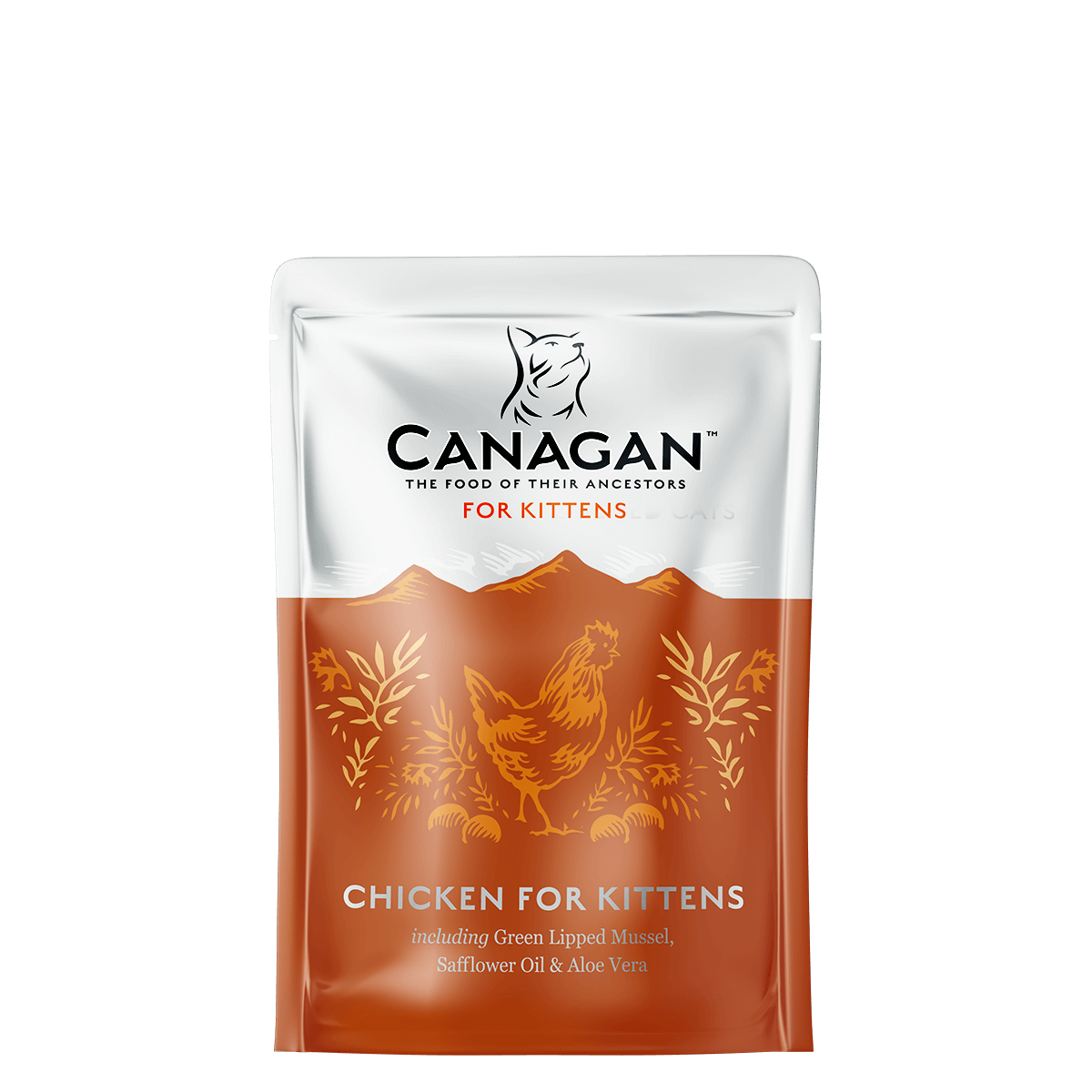 Canagan Dog Can Chicken for Kittens 85gx8 -->$17/pouch!<--