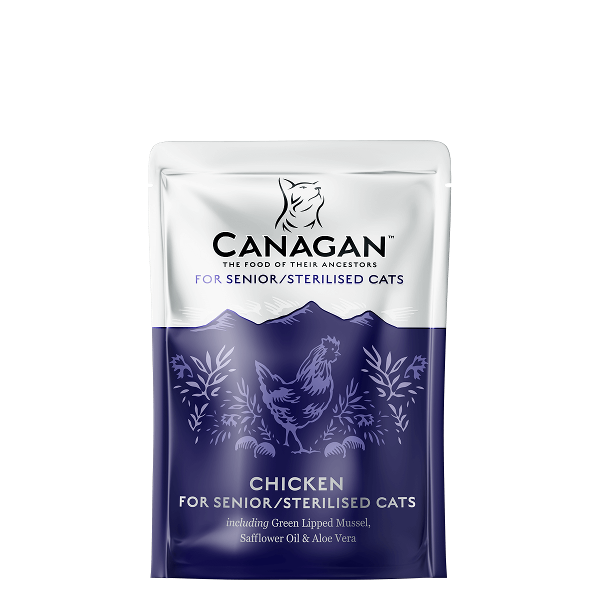Canagan Dog Can Chicken for Senior/Sterilised 85gx32 -->$15.5/pouch!<--