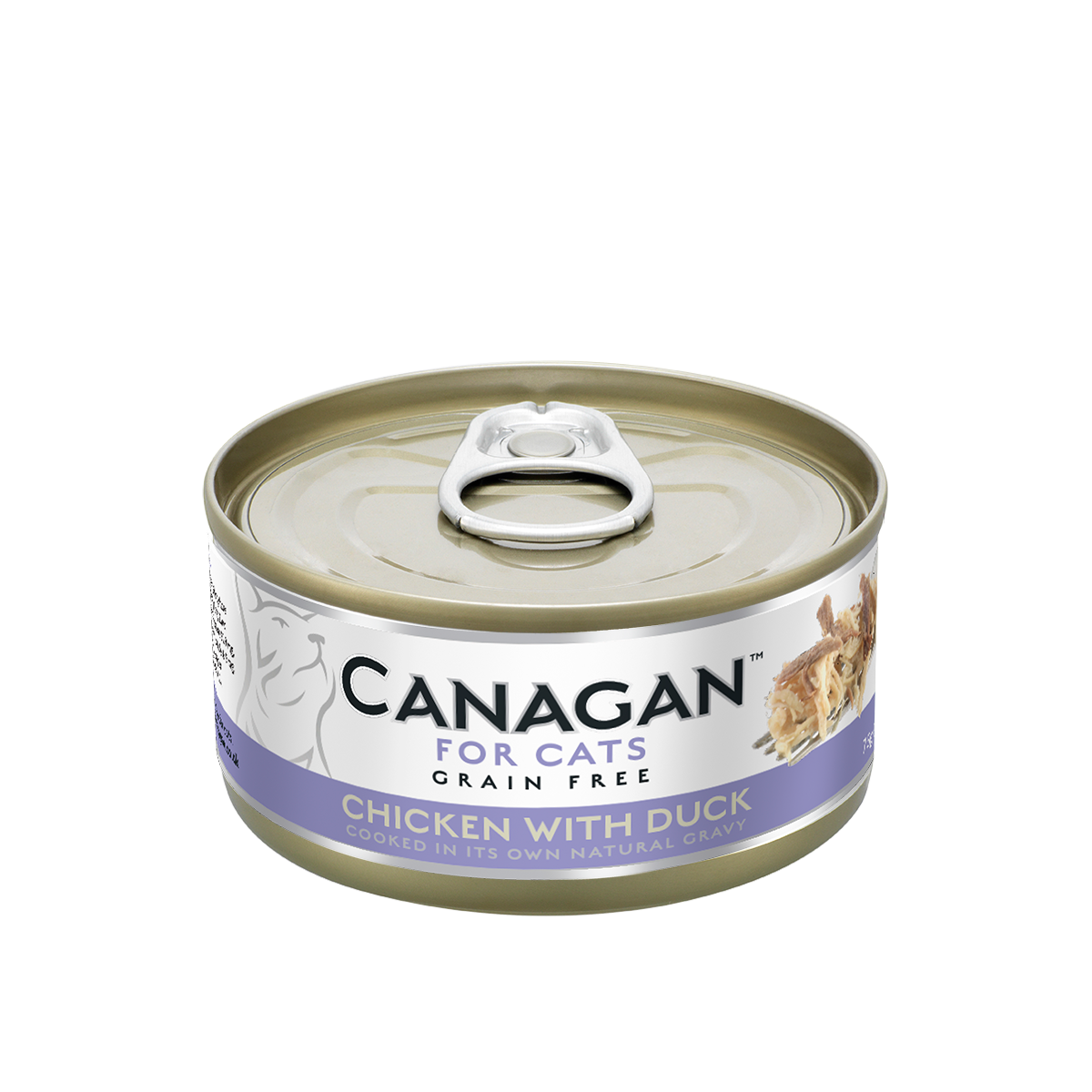 Canagan Cat Can Wet Chicken with Duck 75gx36 -->$13/can!<--