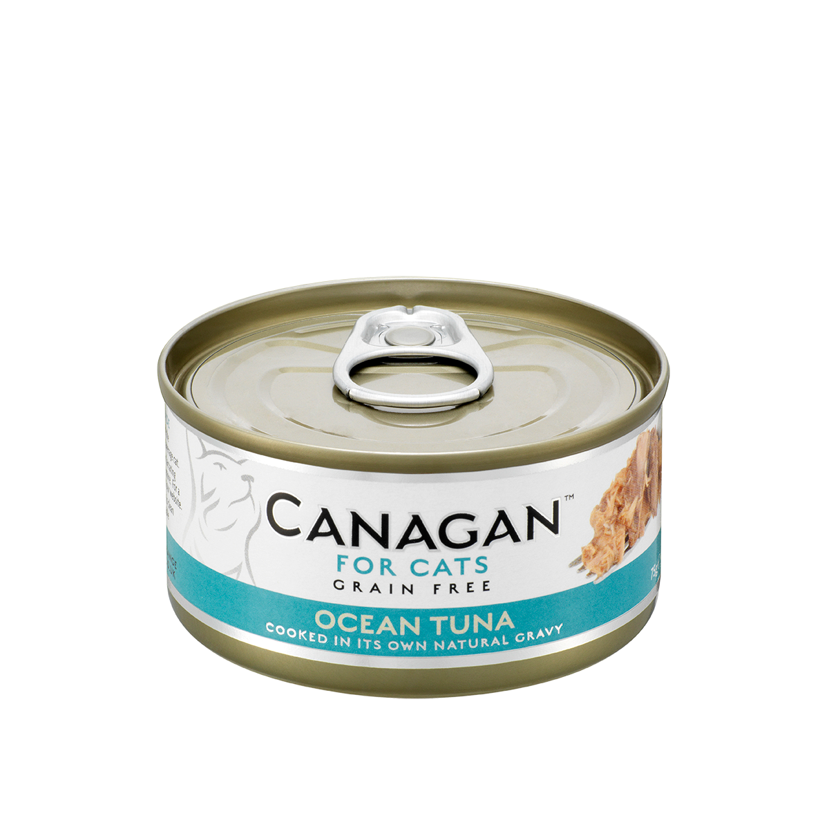 Canagan Cat Can Wet Ocean Tuna 75gx12 --<$14/can!>--