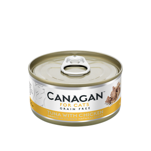 Canagan Cat Can Wet Tuna with Chicken 75gx36 -->$13/can!<--