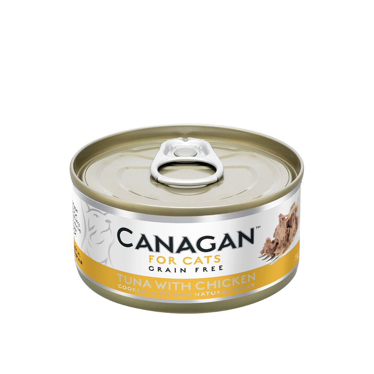 Canagan Cat Can Wet Tuna with Chicken 75gx12 --<$14/can!>--