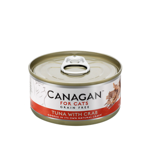 Canagan Cat Can Wet Tuna with Crab 75gx24 -->$13.5/can!<--