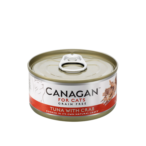 Canagan Cat Can Wet Tuna with Crab 75gx36 -->$13/can!<--