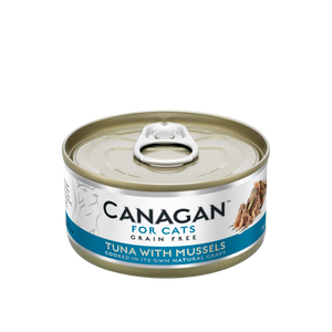 Canagan Cat Can Wet Tuna with Mussels 75gx12 --<$14/can!>--