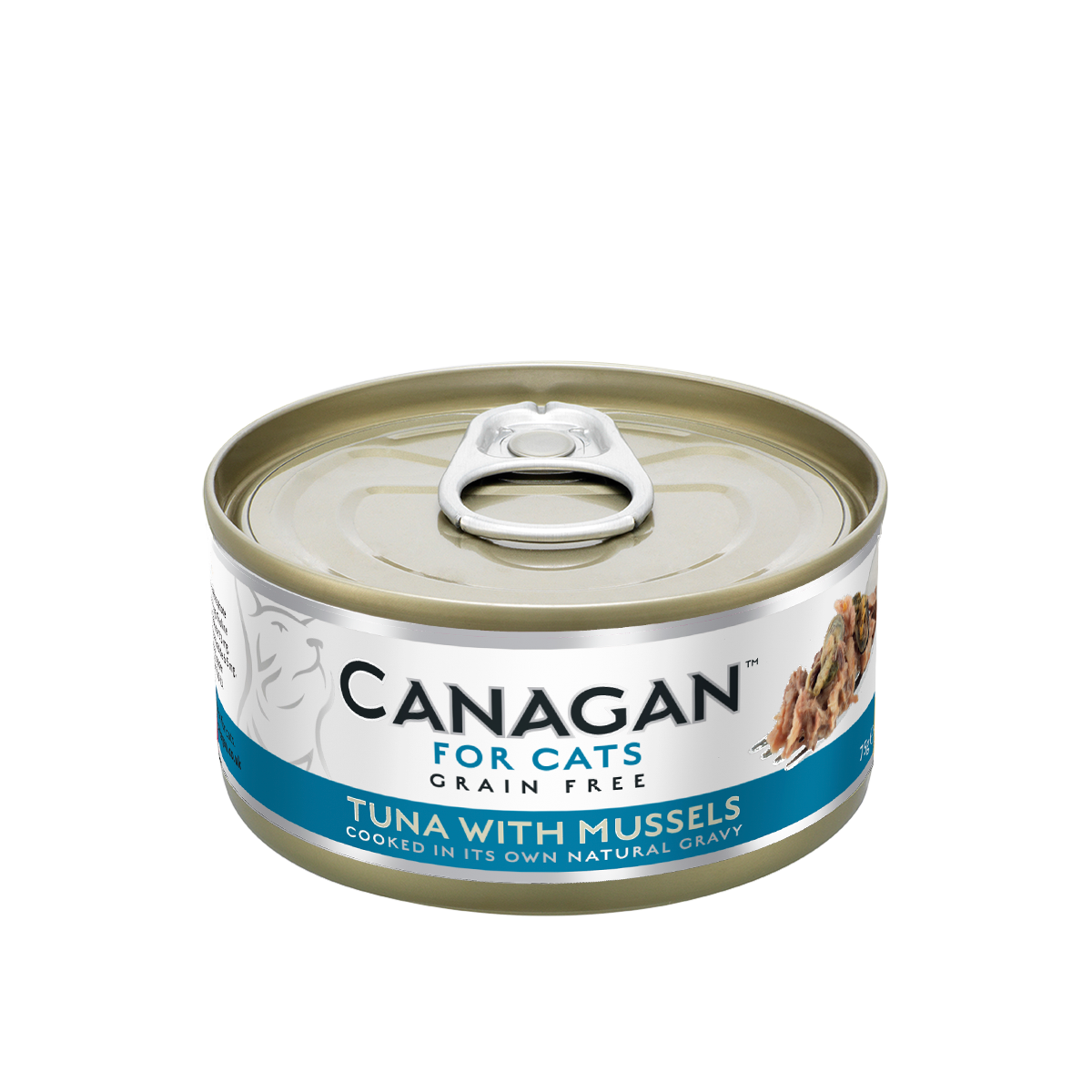Canagan Cat Can Wet Tuna with Mussels 75gx24 -->$13.5/can!<--