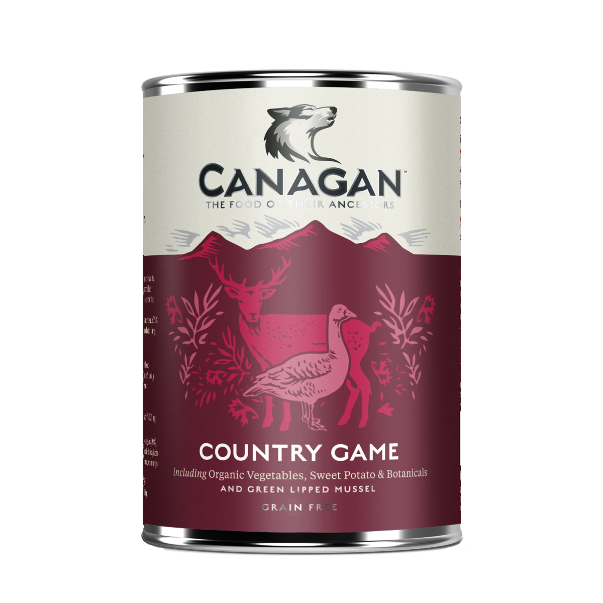 Canagan Dog Can Wet Country Game 400gx12 -->$34/can!<--