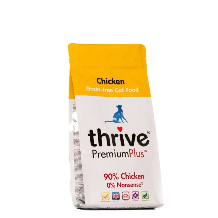 Thrive Premium Plus for Cats 70% Chicken 1.5kg