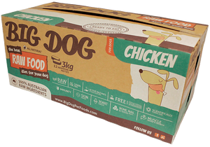 Big Dog for Dog - Frozen - Chicken 4 boxes -->$250/box!<--