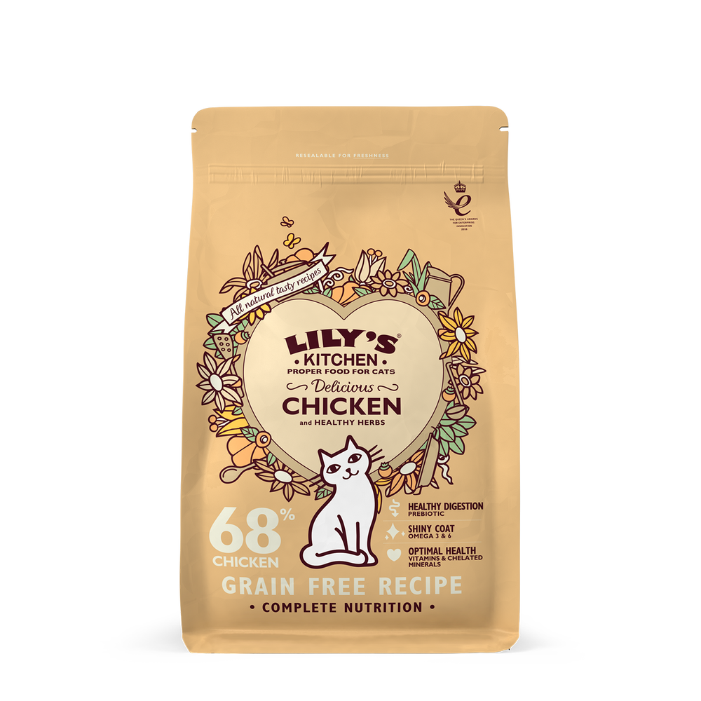 Lily's Kitchen Cat Delicious Chicken Dry Food 2kg