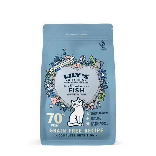 Lily's Kitchen Cat Fabulous Fish Dry Food 2kg