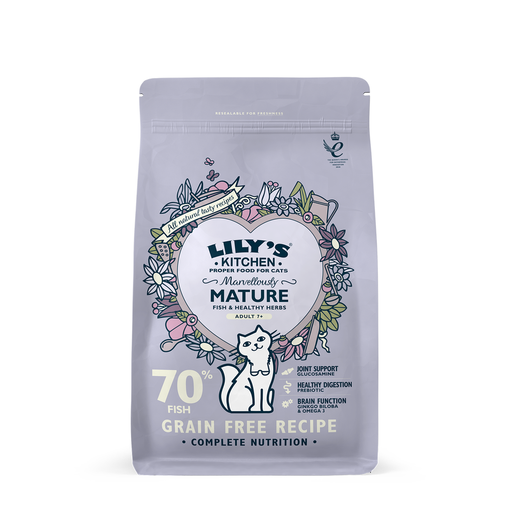 Lily's Kitchen Cat Marvellously Mature Dry Food 800g