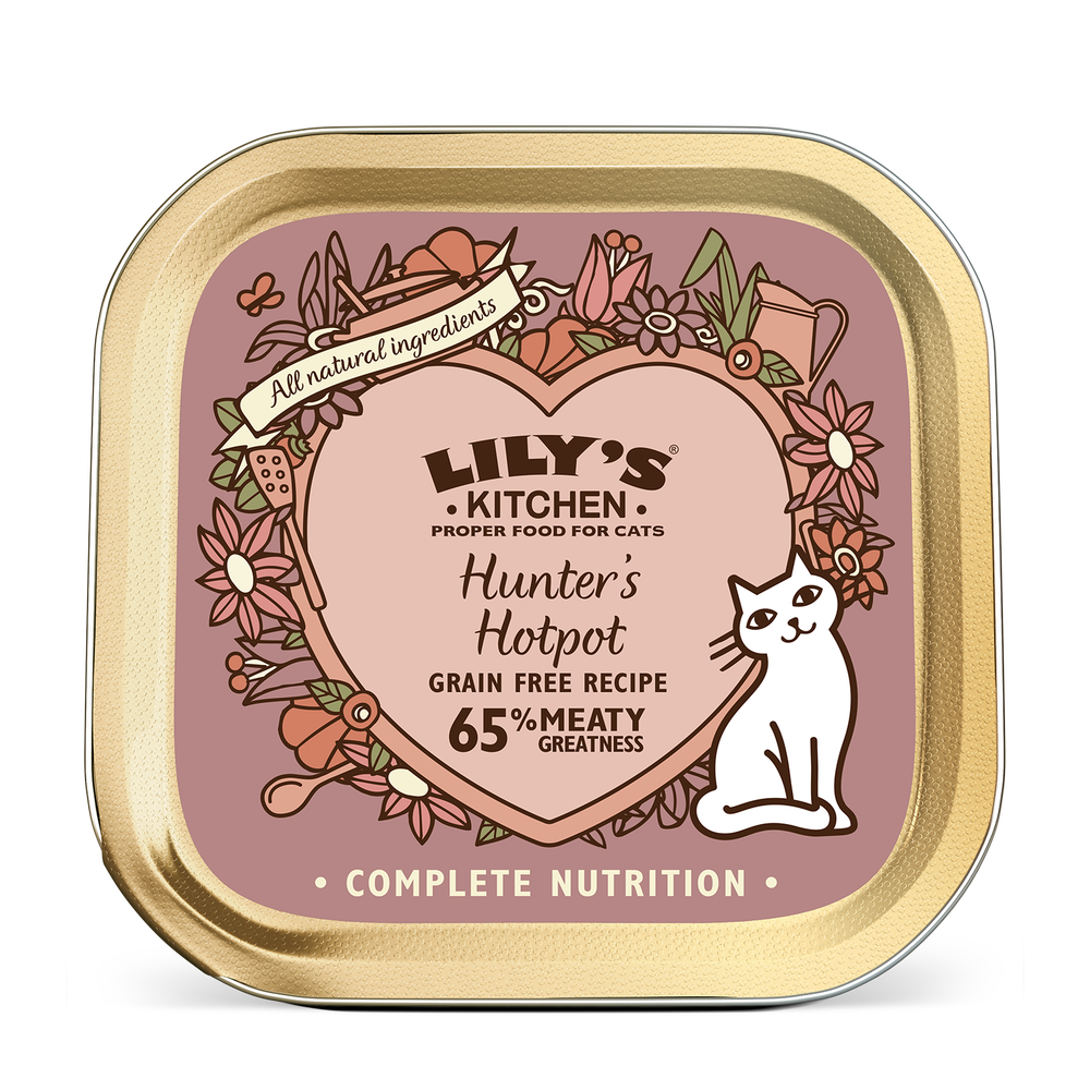 Lily's Kitchen Cat Can Hunter's Hotpot 85g x19 -->$11/can!<--