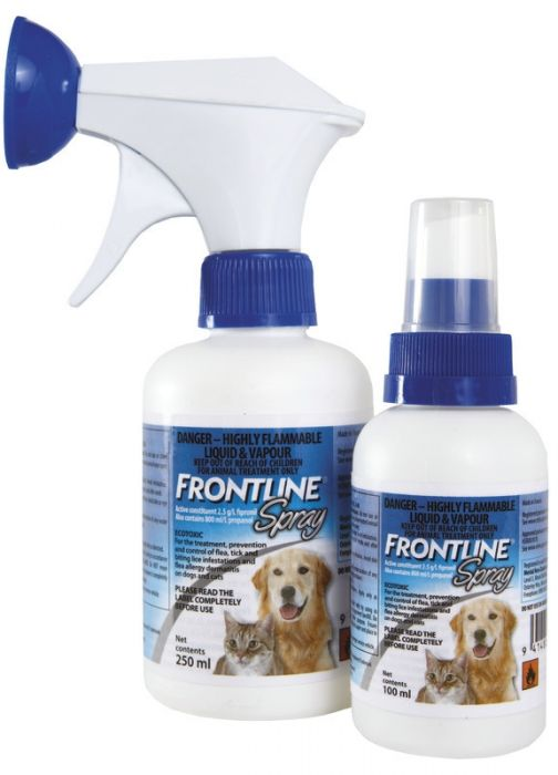 BUNDLE Frontline Spray for Cats & Dogs 250ml x 3 BOTTLES
