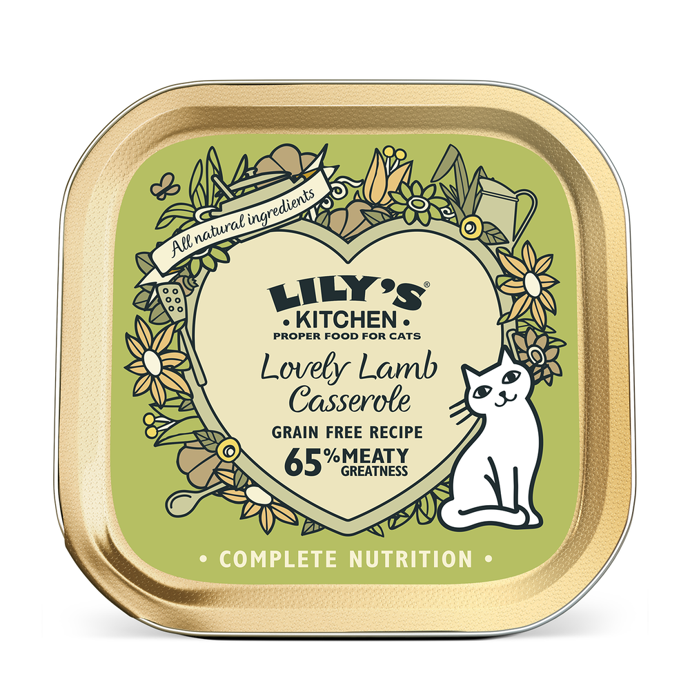 Lily's Kitchen Cat Can Lamb Casserole 85g x19 -->$11/can!<--