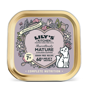Lily's Kitchen Cat Can Mature Chicken Supper 85g x19 -->$11/can!<--
