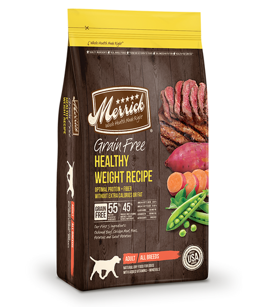 Merrick Grain Free Dog Healthy Weight Recipe 25lb