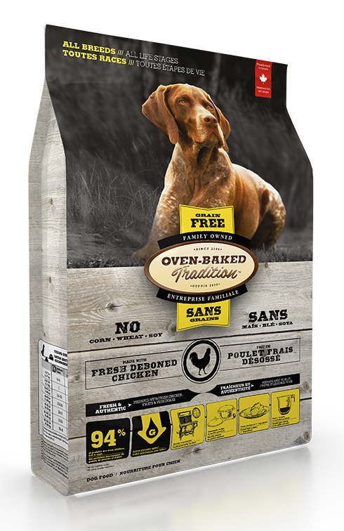 Ovenbaked Grain Free Dog Chicken & Fish 12.5lb
