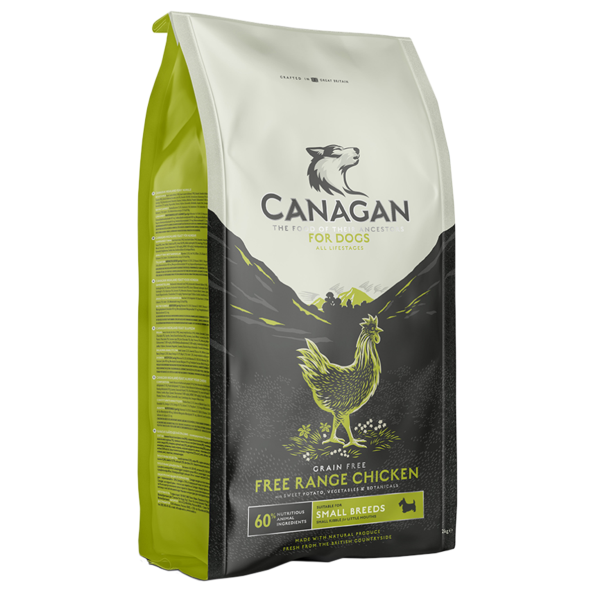 Canagan Adult Dog Small Breed Free Run Chicken 2kg