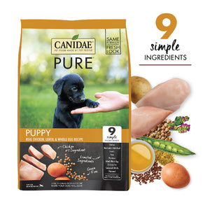 Canidae Grain Free PURE Foundations Puppy Formula Made with Fresh Chicken 24lb