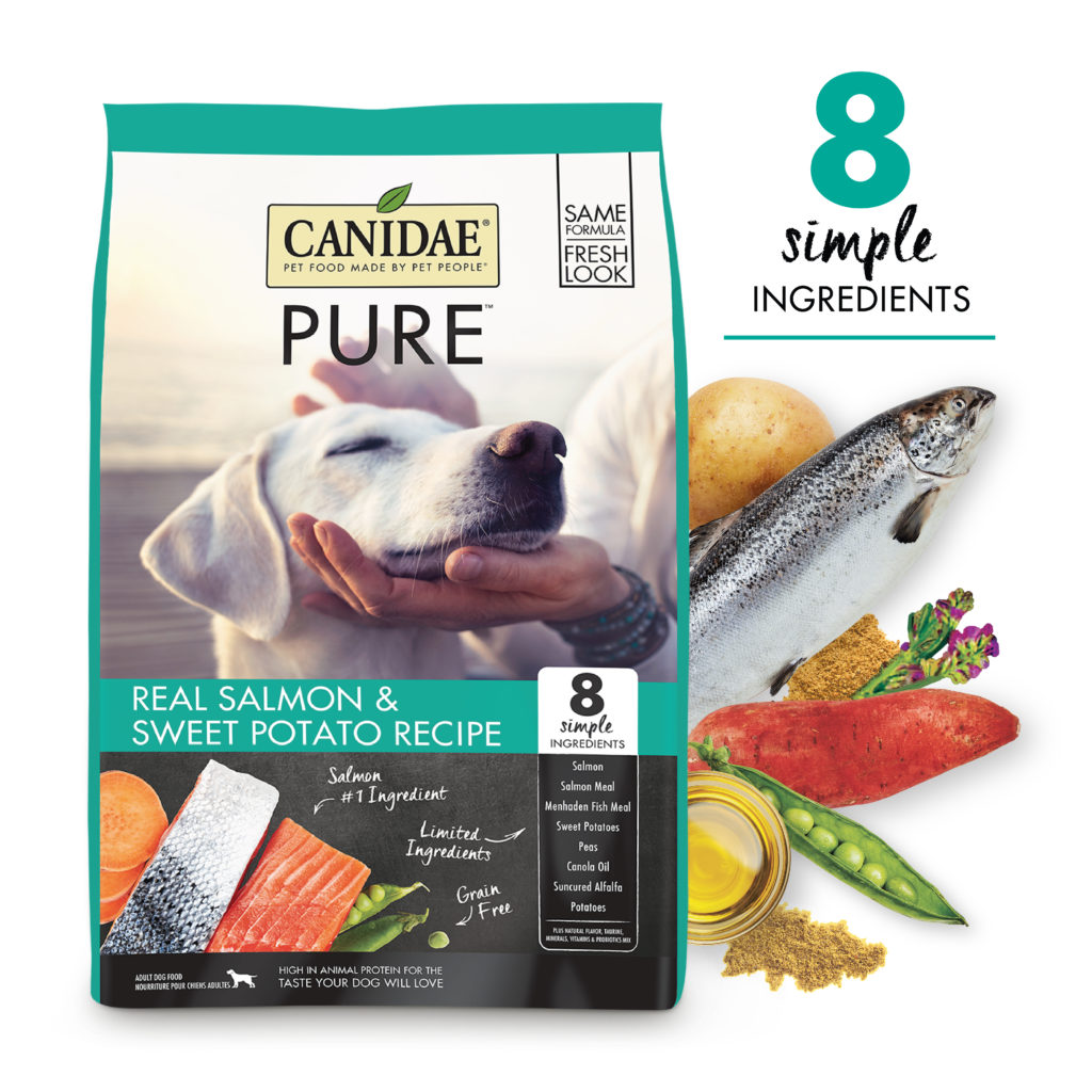 Canidae Grain Free PURE Sea Adult Dog Formula Made with Fresh Salmon 24lb