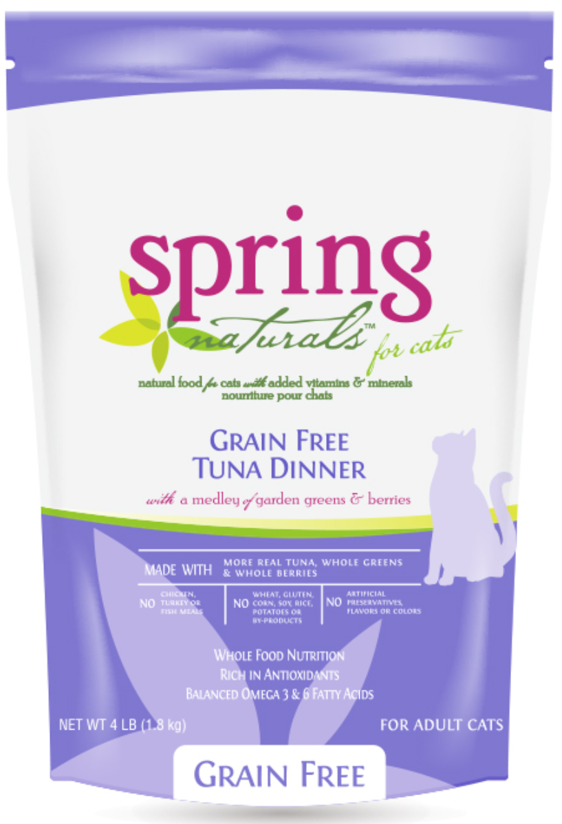 Spring Naturals Cat Grain Free Tuna Dinner 4.5kg