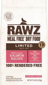 Rawz Limited Ingredient Diet Dog Food - Wild Caught Salmon 3.5lb