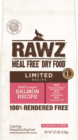 Rawz Limited Ingredient Diet Dog Food - Wild Caught Salmon 20lb
