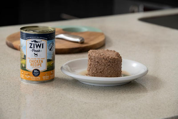 Ziwi Peak Moist CHICKEN recipe for dog 390g x12