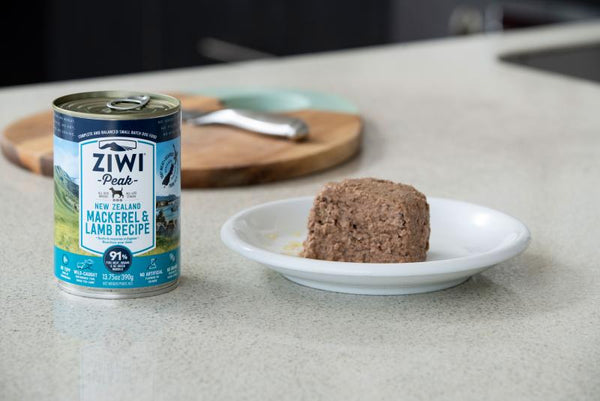 Ziwi Peak Moist MACKEREL & LAMB recipe for dog 390g x12