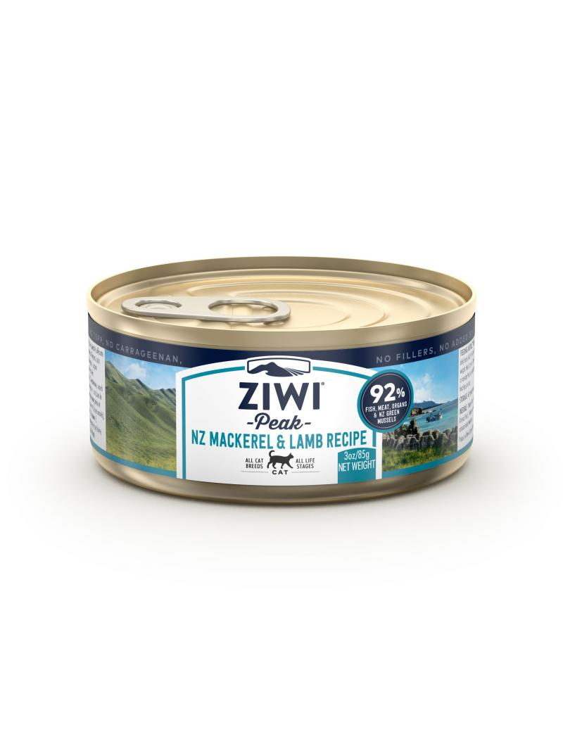 Ziwi peak Cat Moist Mackerel & Lamb Recipe 3oz x12