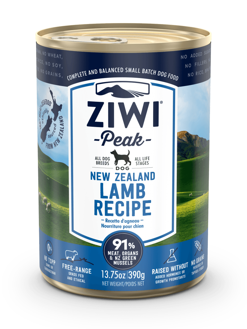 Ziwi Peak Moist LAMB recipe for dog 390g x12